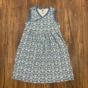 Tea   Patterned Dress, M